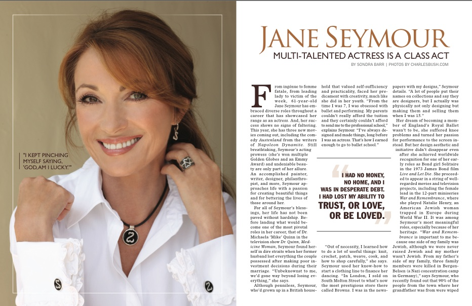 Screen shot 2012 03 12 at 10.28.27 AM Jane Seymour: Multi talented actress is a class act