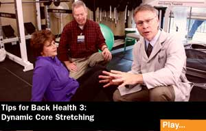 backhealthcoreexcercise22 Living Well Videos