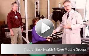 backhealthcoremuscle11 Living Well Videos