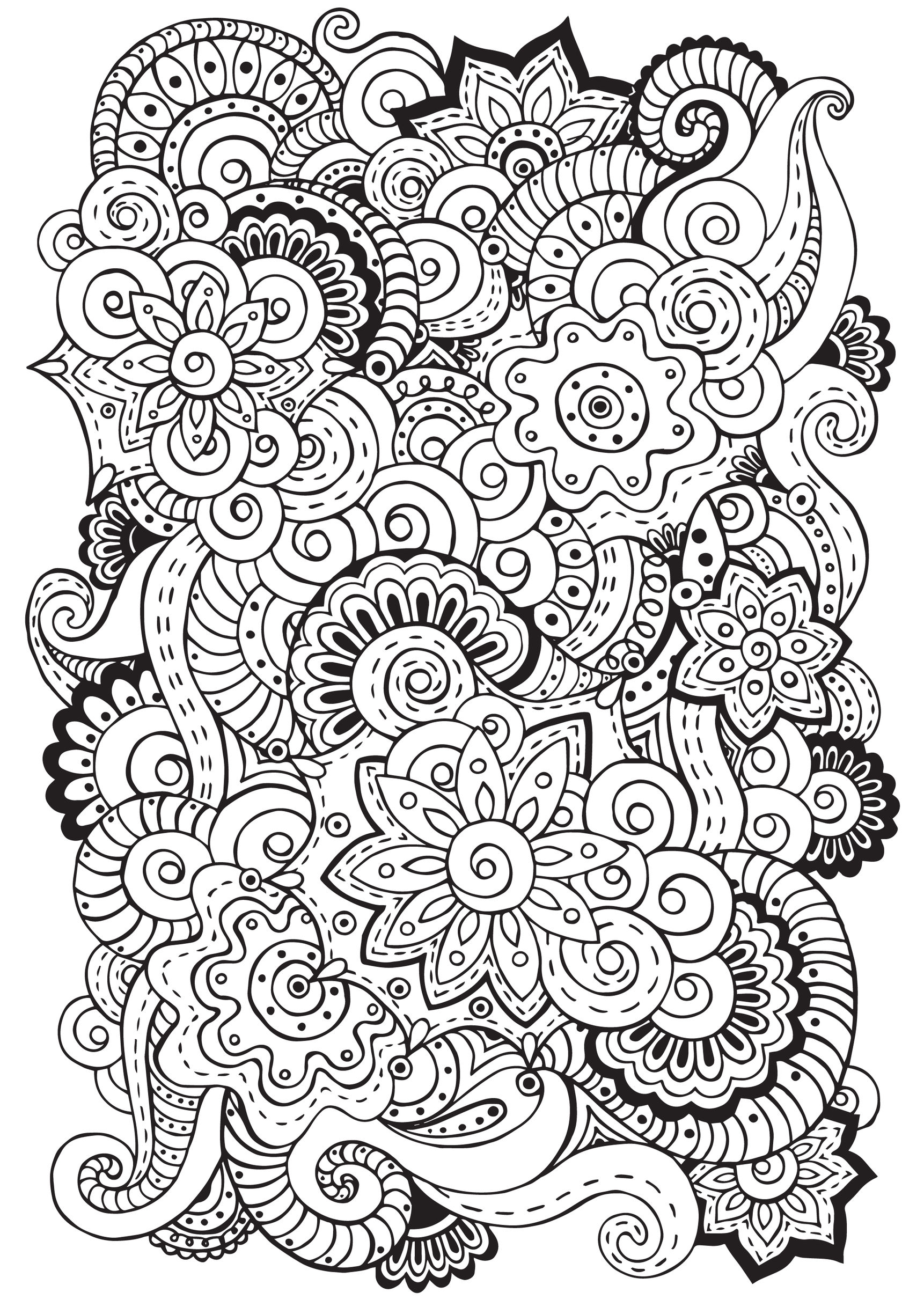 Co coloring book page template - Co Co Co Coloring Book For Mindfulness Mindful Meditation The Art Of Adult Coloring Books